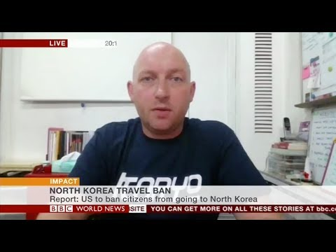 U.S. Travel Ban to North Korea - BBC World News