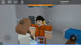 HOW TO CRAWL IN PRISON LIFE ON ANDROID || ROBLOX PRISON LIFE