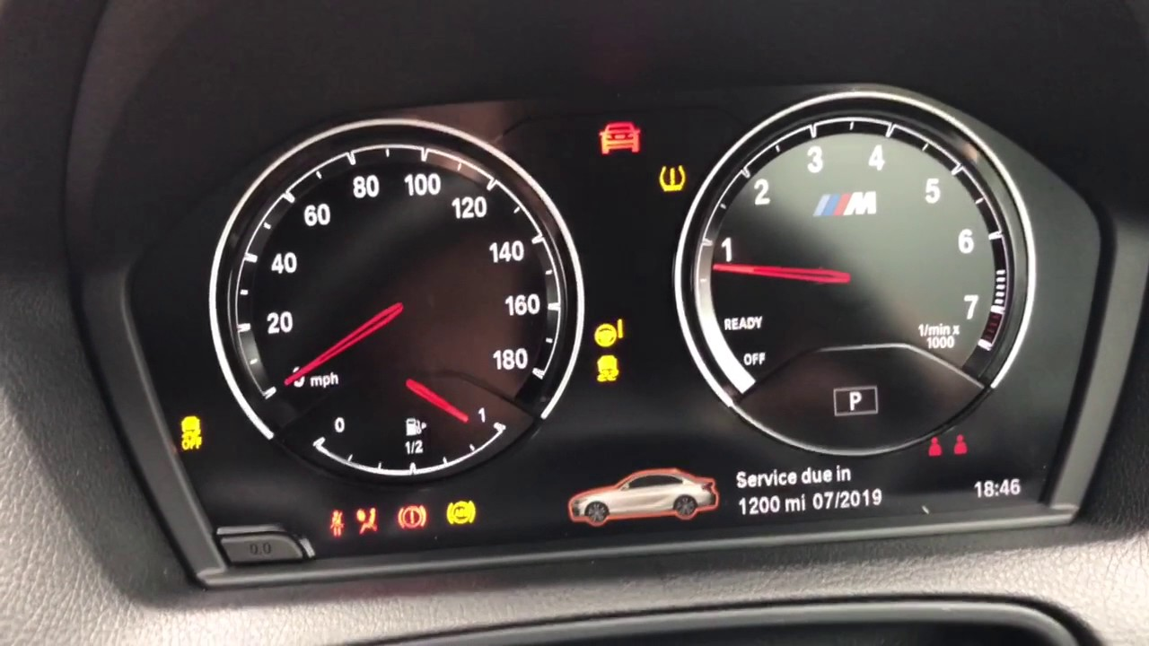 Bmw M2 Lci Dashboard Startup Youtube