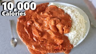 Massive Indian Curry Platter (10,000 Calorie Feast...