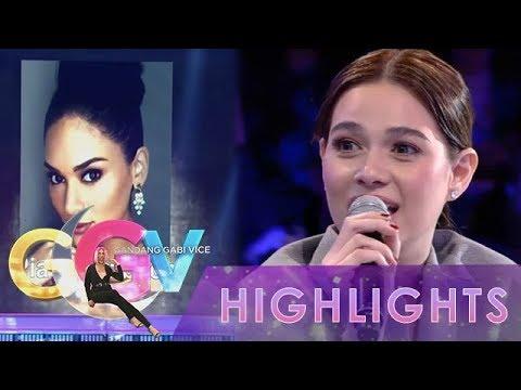 GGV: Bea Alonzo asks Pia in Tanong Mo, Mukha Mo!