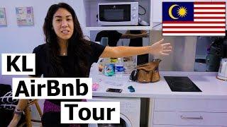 Gambar cover CHEAP AirBnB Condo Tour in KUALA LUMPUR, Malaysia!