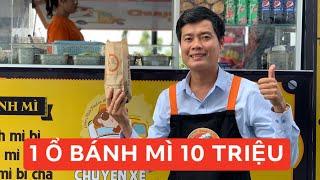 Khương Dừa bán 1 ổ bánh mì 10 triệu đồng, gây quỹ Chuyến xe nụ cười