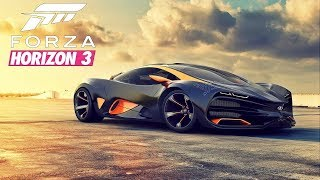 Forza Horizon 3 Gameplay part3:crazy racing online FHD1080P