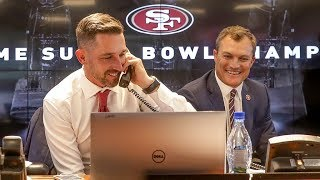 Inside the Draft Room: 49ers Call DL Nick Bosa
