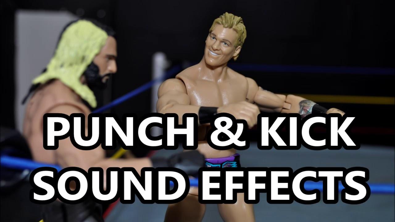 WWE PUNCH & KICKS SOUND EFFECTS - YouTube