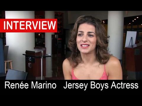 Renée Marino Jersey Boys Movie On Playing Mary Delgado Youtube
