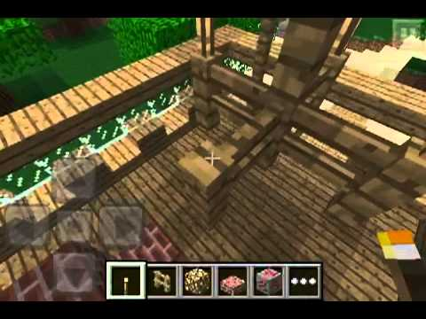 Minecraft Pe Furniture Ideas And Instructions Youtube