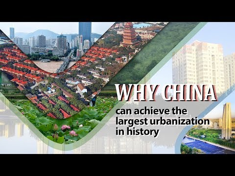 Why China Can Achieve The Largest Urbanization In History