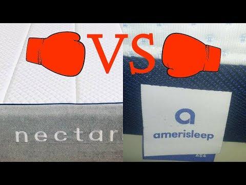 Amerisleep Mattress v Nectar Mattress