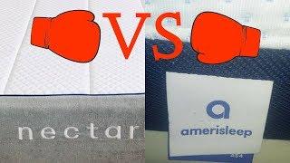 Amerisleep Mattress V Nectar Mattress Reviews