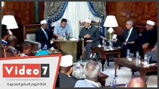 شيخ الأزهر يناقش رئيس الصومال سبل مواجهة الإرهاب