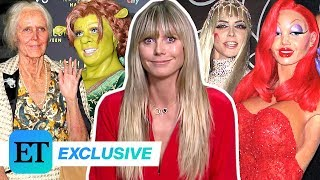 Heidi Klum Breaks Down 20 Years of Iconic Halloween Costumes (Exclusive)