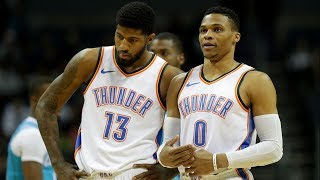 Thunder End 3 Game Losing Streak! Outscore Hornets 13 in 4th! 2017-18 Season