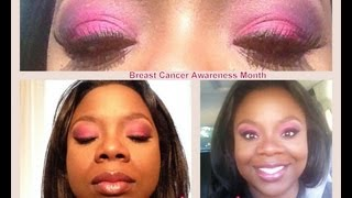 Pink Makeup Tutorial Thumbnail
