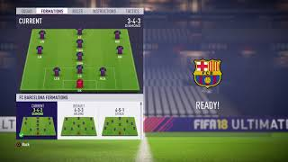 Fifa 18 fc barcelona review - best formation, tactics and instructions please enjoy the video hopefully its helps you become a better playe...