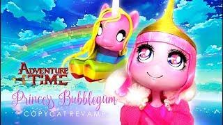 Doll Repaint PRINCESS BONNIBEL BUBBLEGUM & LADY RAINICORN Adventure Time Repaint Custom Ooak