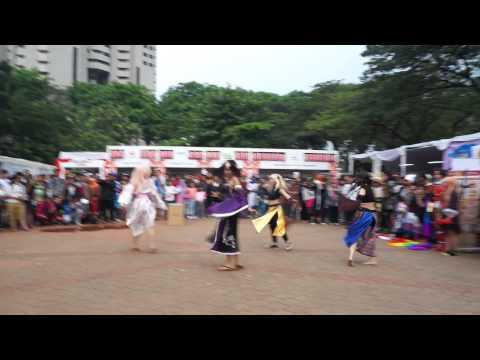 Senbonzakura Traditional Dance @ Jak Japan Matsuri 2014, Indonesia
