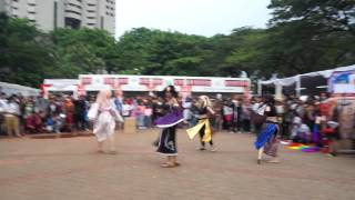Senbonzakura Traditional Dance @ Jak Japan Matsuri 2014, Indonesia
