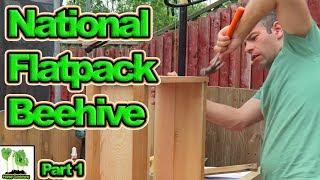 Building My First National Bee Hive  Part 1