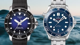 $500 vs. $5000 Diver: The Tissot Seastar and NEW Omega Seamaster Professional 300M