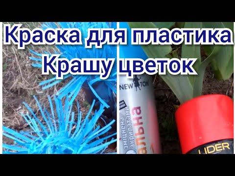 Как покрасить пластиковую бутылку