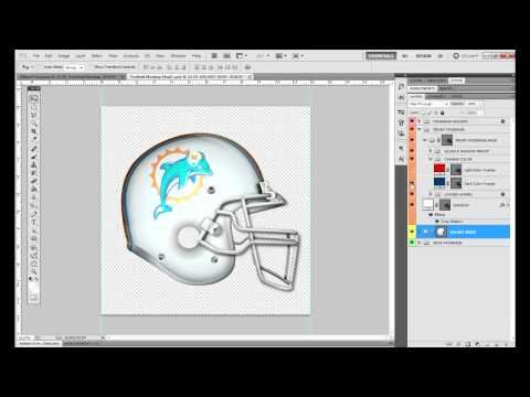 Football Helmet Mockup - Identity Factory - Graphic River