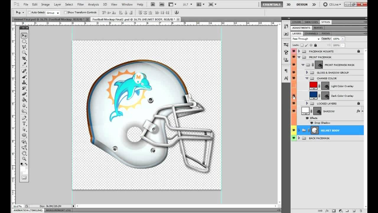 Design Your Own Football Helmet Game