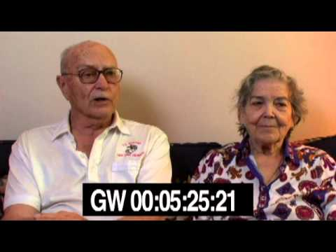 Memories of Guantanamo - Select clips from Gordon and Carmen interview