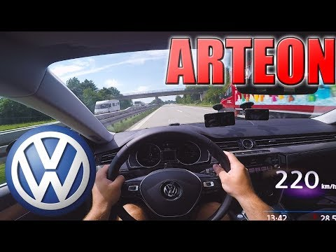 2018 Volkswagen ARTEON (0-220km/h) POV | TOP SPEED, Acceleration TEST ✔