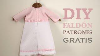 DIY Cómo hacer faldon de bebe (patrones gratis)