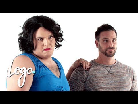 Italian Mom Answers Questions About Life | Gay Skit Happens | Logo