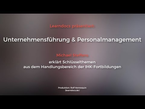 Personalmanagement In Der Fortbildung: