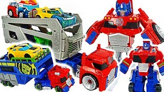 Transformers Rescue Bots Optimus Prime rescue trailer! Go! #DuDuPopTOY
