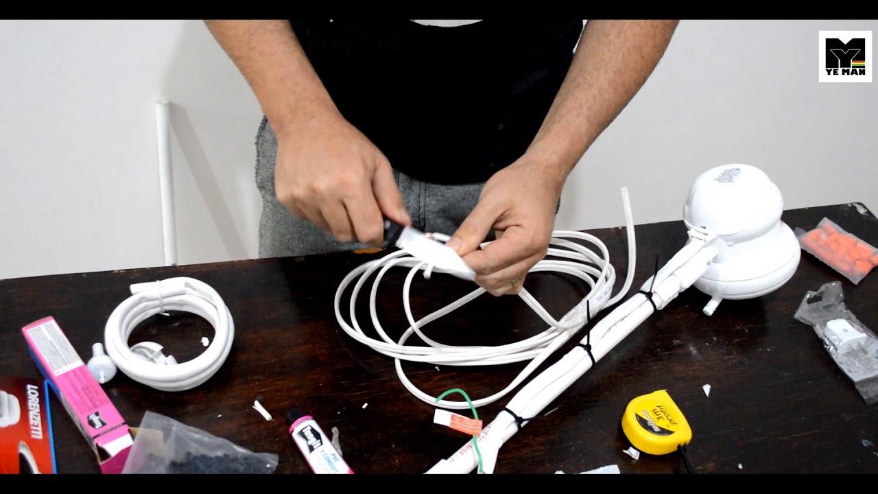 Como instalar una regadera electrica ye man 2017 youtube for Como funciona una regadera electrica