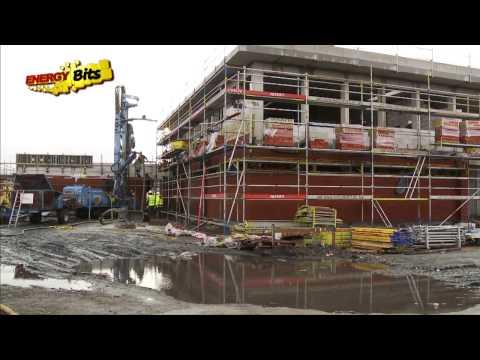 Geothermal railway station - Energy Bits - RTBF - Version française
