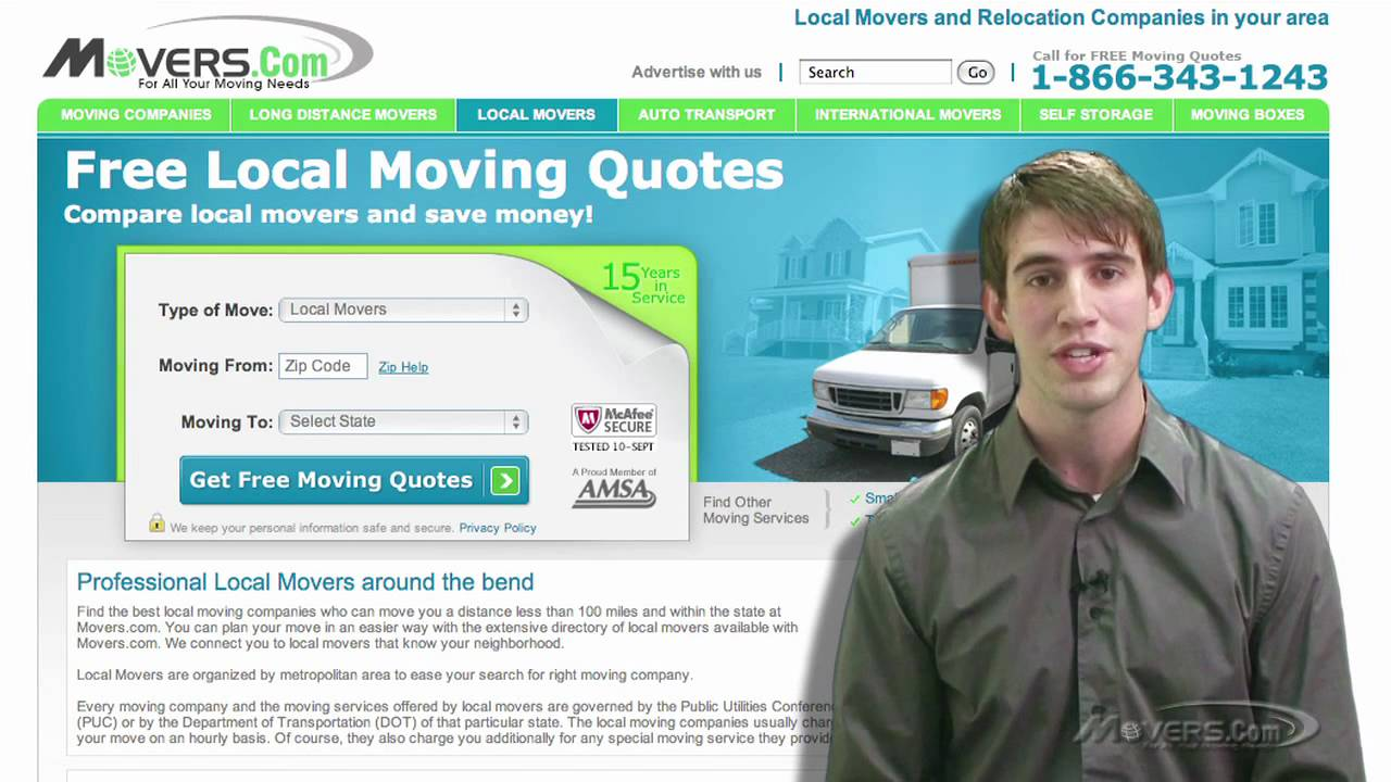 Free Moving Quotes Local Movers  Free Moving Quotes  Movers  Youtube