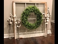 DIY CHEAP and EASY boxwood wreath tutorial