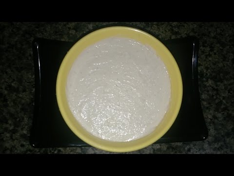 Mayonnaise (TOFU)  [special for diabetics and heart patients] टोफू मयोनीस