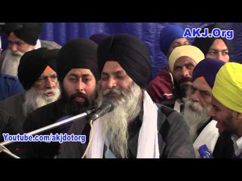 006 Ferozepur Samagam 9 10Jan2016 Reansabaayee Bhai Davinder Singh Jee Gurdaspur