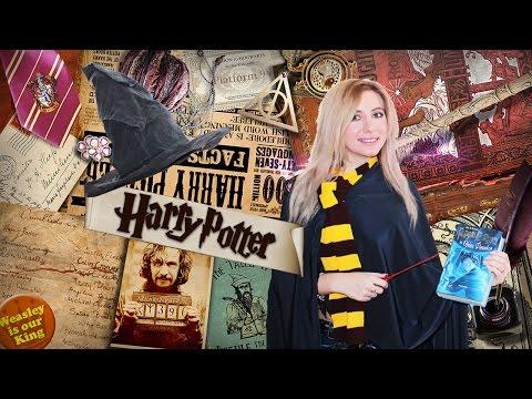 DIY ГАРРИ ПОТТЕР Костюм Гарри Поттера своими руками за 15 минут Волшебная палочка Шляпа ведьмы