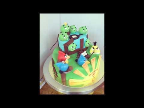 Торт на заказ (Angry birds)