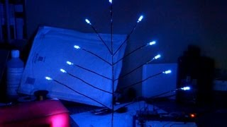 Led Christmas Tree, Knight Rider Style Chaser And Random Patterns