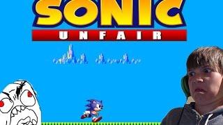 SO MUCH RAGE!| Sonic Unfair