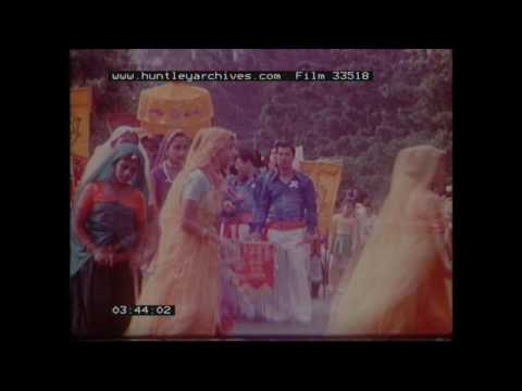 Chinese New Year Celebrations in Singapore.  Archive film 33518