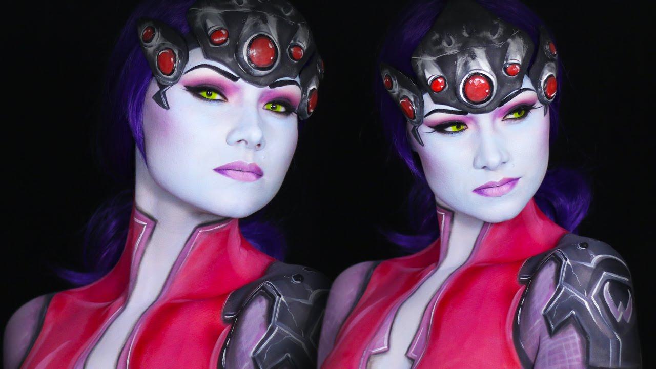 Widow Maker Overwatch Makeup/Cosplay Tutorial - YouTube