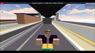 Fahren ein paar Züge auf einem Spiel auf roblox (link in desc)