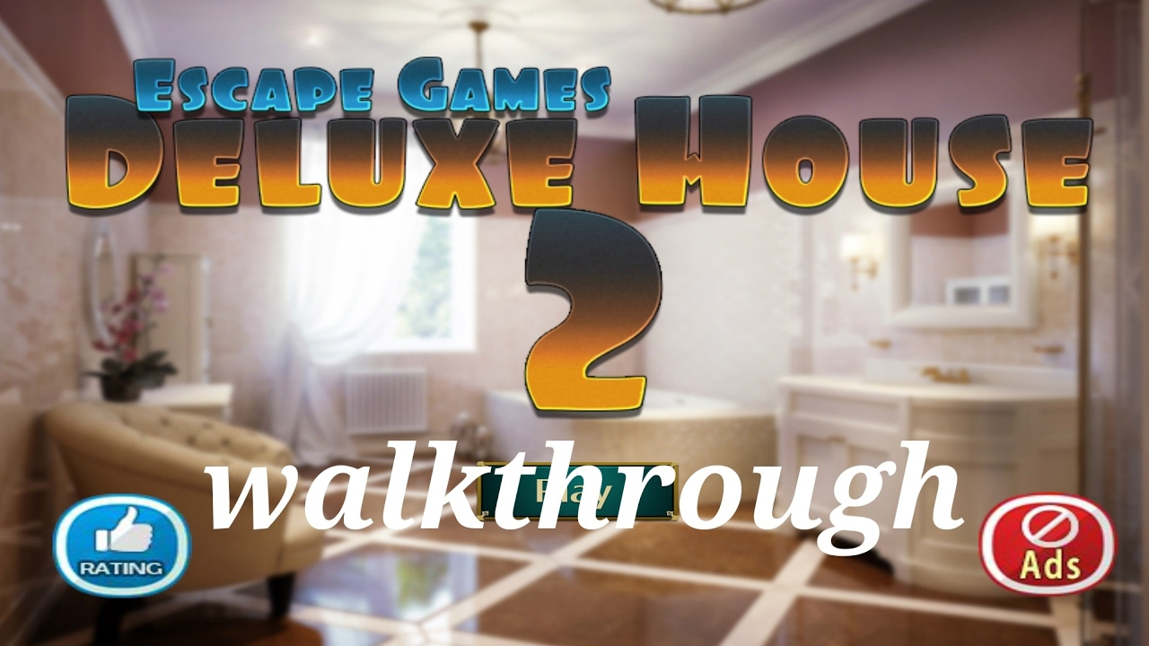 Escape games deluxe house 2 walkthrough