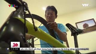 Chuyển động 24h trưa - 16/9/2017 - Giải xe đạp quốc tế VTV Cup Tôn Hoa Sen 2017