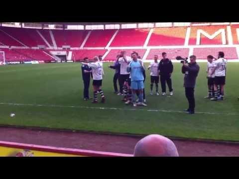 Gateshead vs. Ebbsfleet United - Gateshead Staying Up